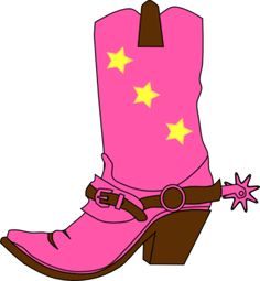 Cowgirl clipart happy birthday Vector Cowgirl 2012 free Pink