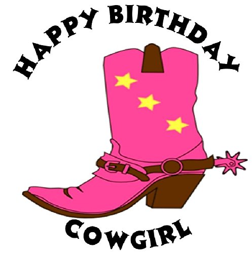 Cowgirl clipart happy birthday Boot 12 of Boot Amazon