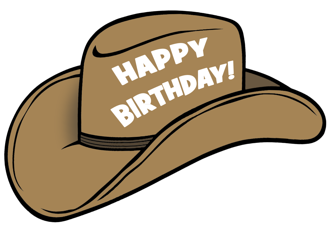 Cowgirl clipart happy birthday Art Clip clipart Art Free