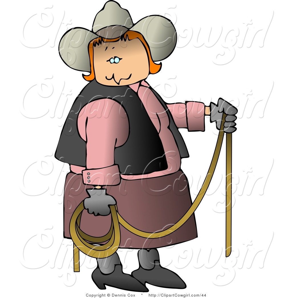 Cowgirl clipart lasso rope Rope Stock Lasso in Redheaded