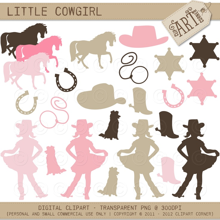 Cowgirl clipart little cowgirl Free For Clip ClipartDeck category: