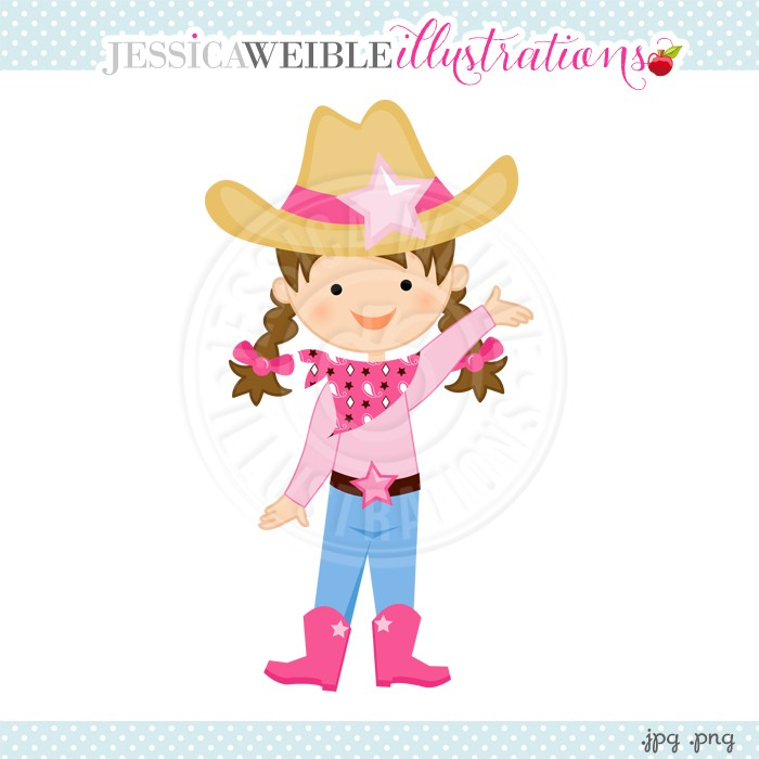 Cowgirl clipart little cowgirl Little Clipart Cowgirl Download Cowgirl