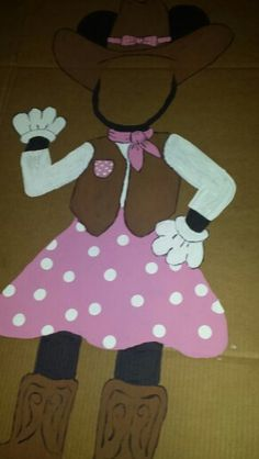 Cowgirl clipart minnie mouse Cowgirl Minnie photo Minnie mouse