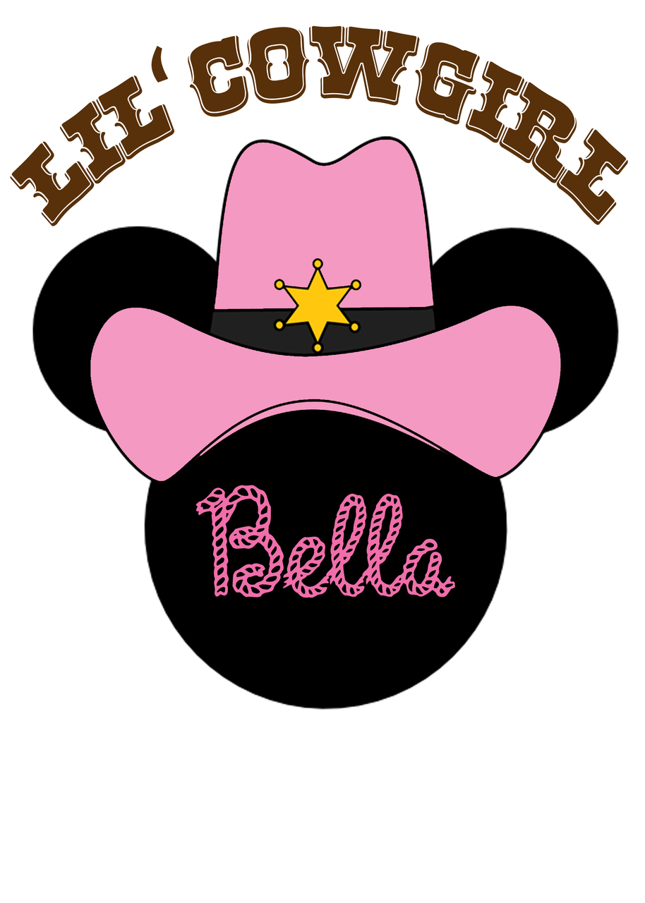 Cowgirl clipart minnie mouse Minnie vaquera! minnie vaquera cumpleaños