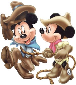 Cowgirl clipart minnie mouse La & Mouse iconos on