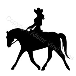 Cowgirl clipart riding horse Search Google outlines clipart Search