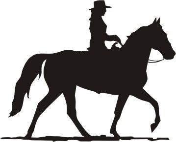 Cowgirl clipart riding horse On Google Pinterest Western Search