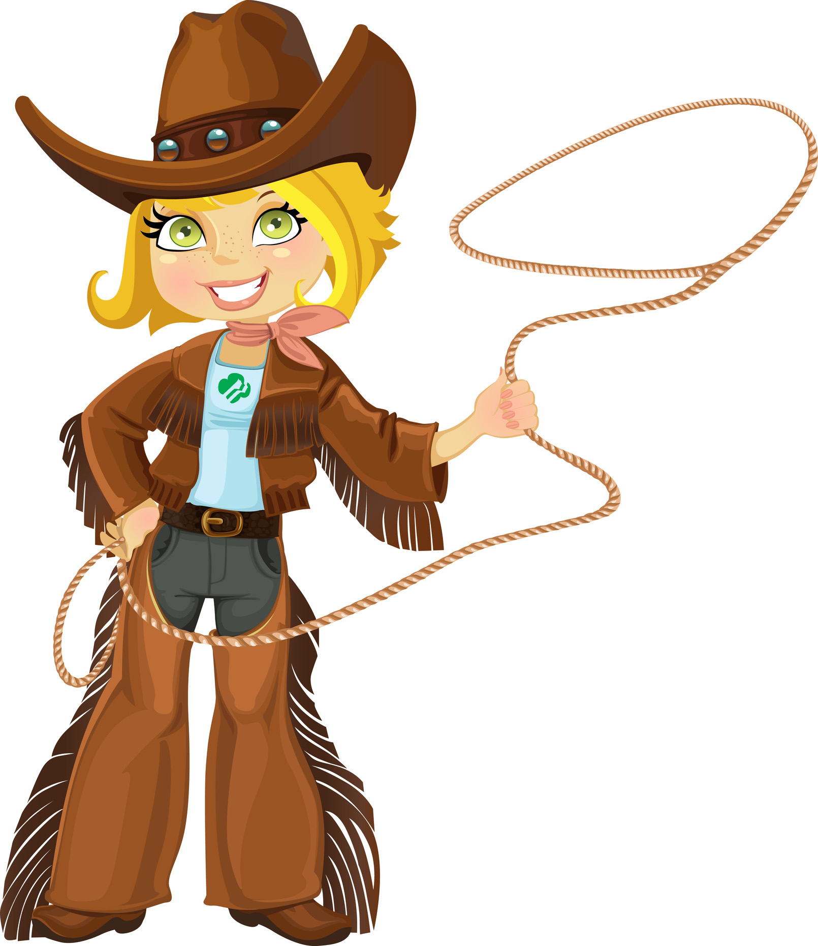 Cowgirl clipart roundup Scouts Scout Valley Camp Girl