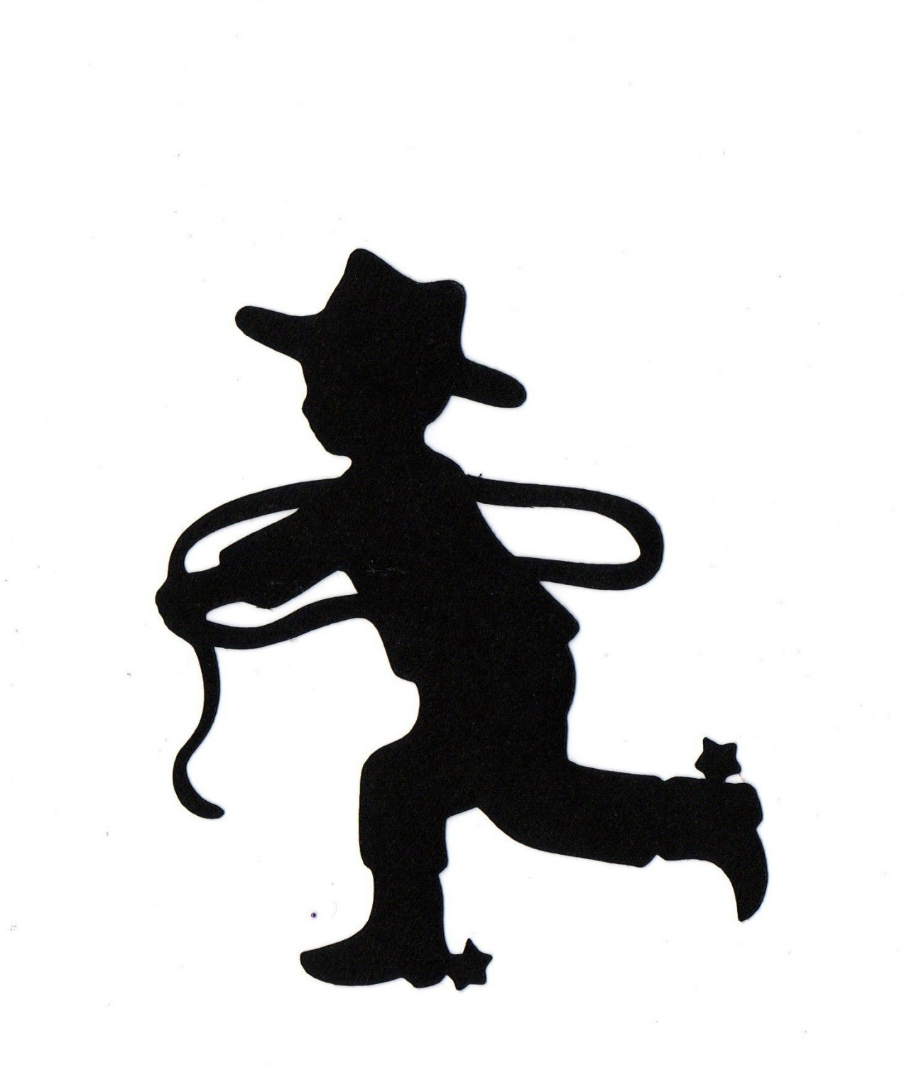 Cowgirl clipart silhouette Or Cowboy cut Silhouette for