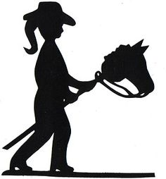 Cowgirl clipart silhouette Cowgirl  Clipart Free Silhouette