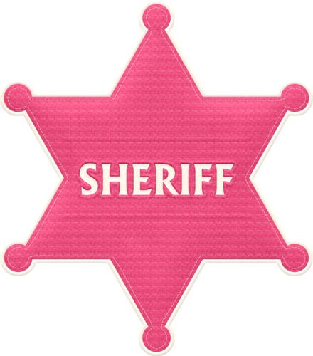 Cowgirl clipart star Badge images best 50 Cowgirl