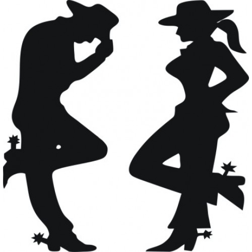 Shadows clipart cowboy To  Texas cowboys with