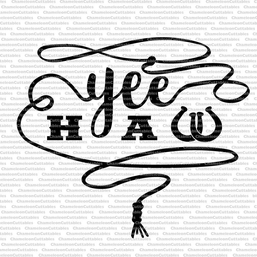Cowgirl clipart texas cowboy Yeehaw Etsy country cowboy cut