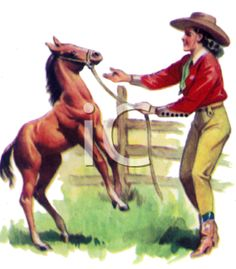 Cowgirl clipart vintage cowgirl Pretty sweetly beautiful The Playing