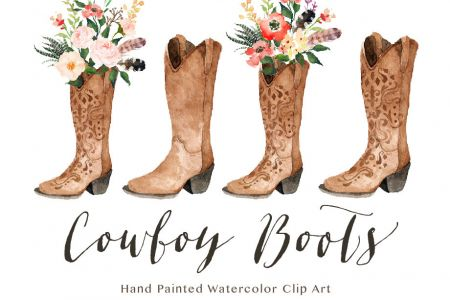 Cowgirl clipart wedding Etsy Cowboy for DA Art