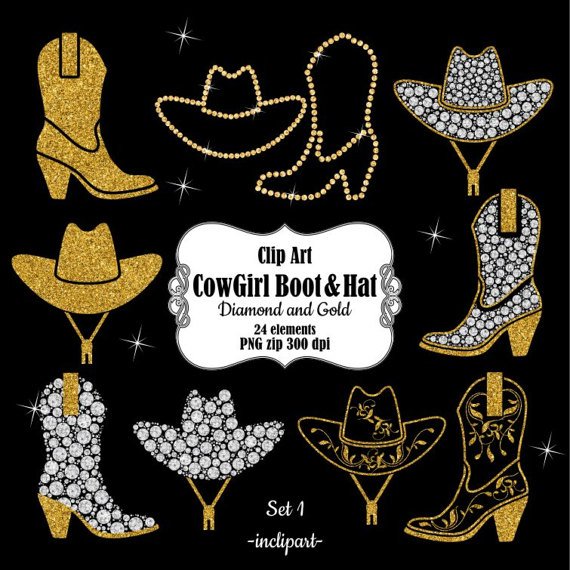 Cowgirl clipart wedding Clipart clipart Business CowGirl Digital