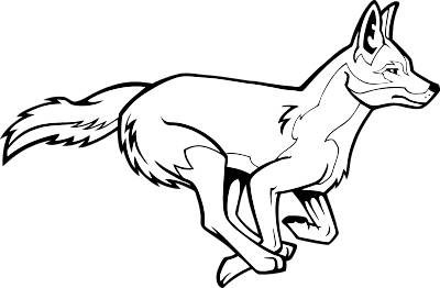 Coyote clipart Free art images image clip