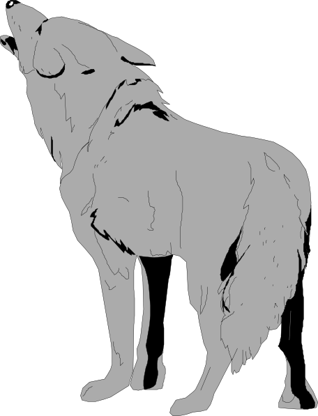 Coyote clipart Free Coyote Howling Clipart Coyote
