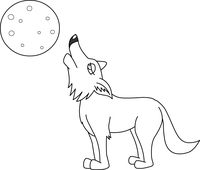 Wolf clipart coyote  7213 Search Results black