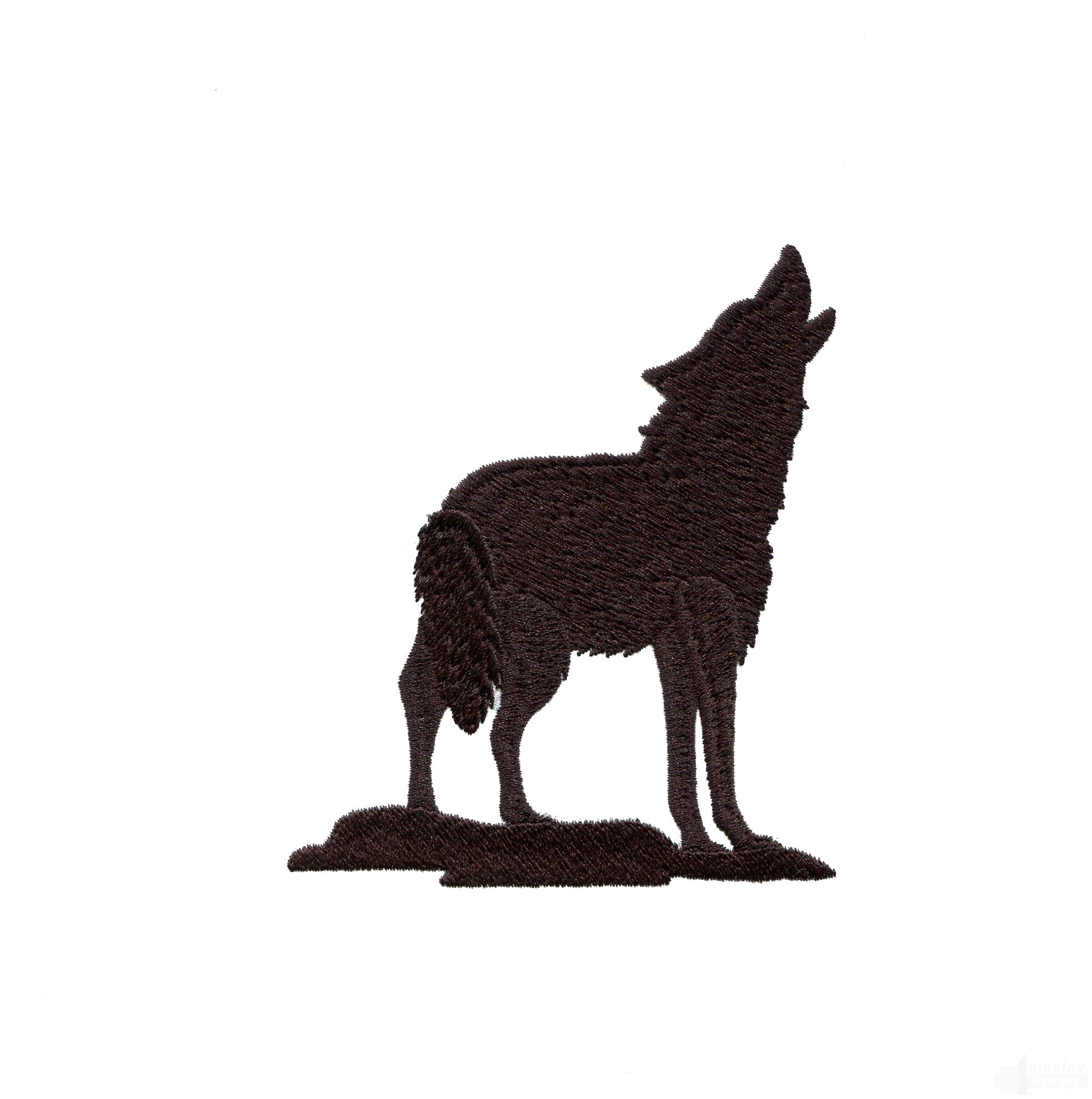Wolf clipart coyote Silhouette art vector art silhouette