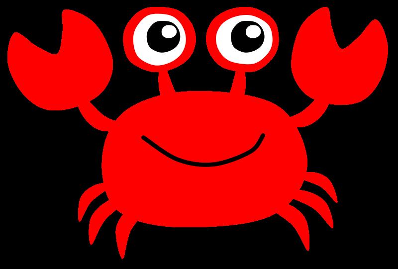 Crustacean clipart outline Crab Art Clipart Clip Crab