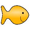 Yellow clipart goldfish cracker Fish LessonPix