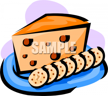 Cheese clipart outline Clipart Clipart Panda Crackers Free