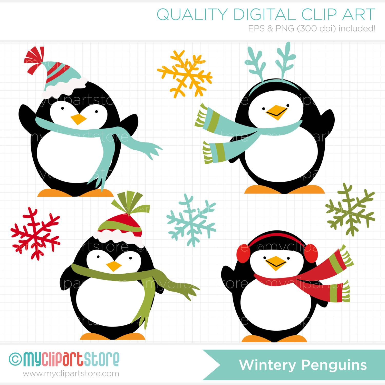 Penguin clipart winter break Free Images penguin clipart Large