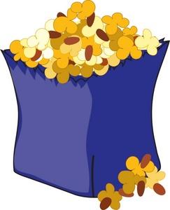 Popcorn clipart blue Clipart · Images snack%20clipart cracker%20clipart