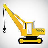 Crane clipart Mobile Truck · crane vector
