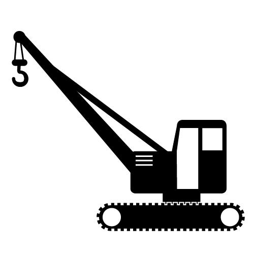 Crane clipart Crane art art clip #3