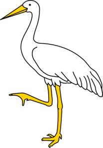 Animal clipart crane Free And White Images Clip