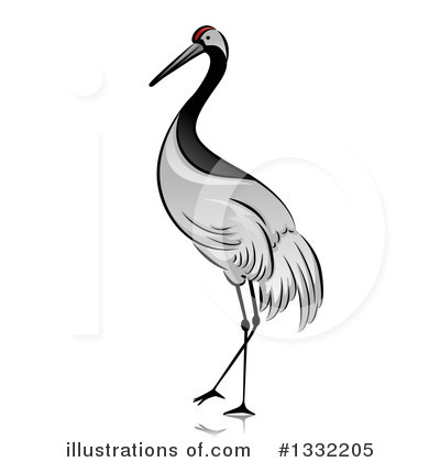 Brds clipart crane #1332205 by Clipart Design Bird