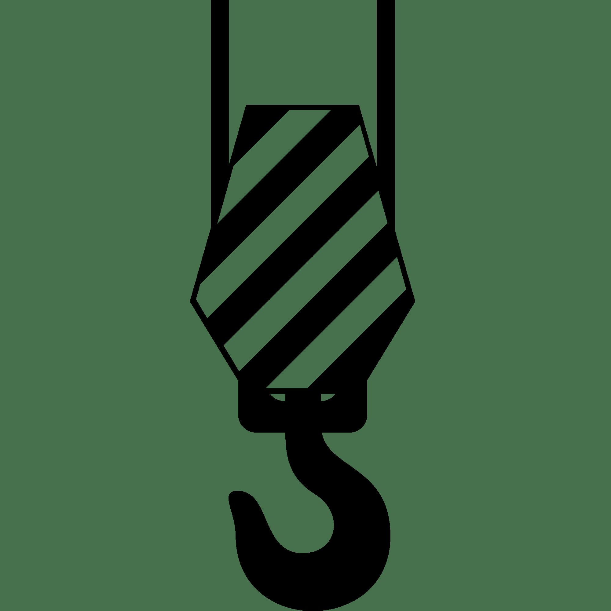 PNG Crane Clipart transparent Hook