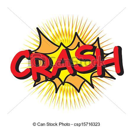 Crash clipart Illustration crash Vector text art