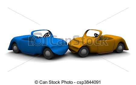 Crash clipart 3d car Rendered Car 3d accident Clipart