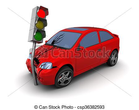 Crash clipart 3d car Csp3844091 car car rendered Car