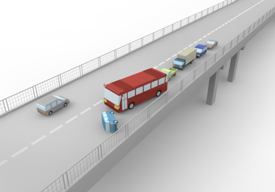 Crash clipart bus accident Free traffic Art traffic Highway