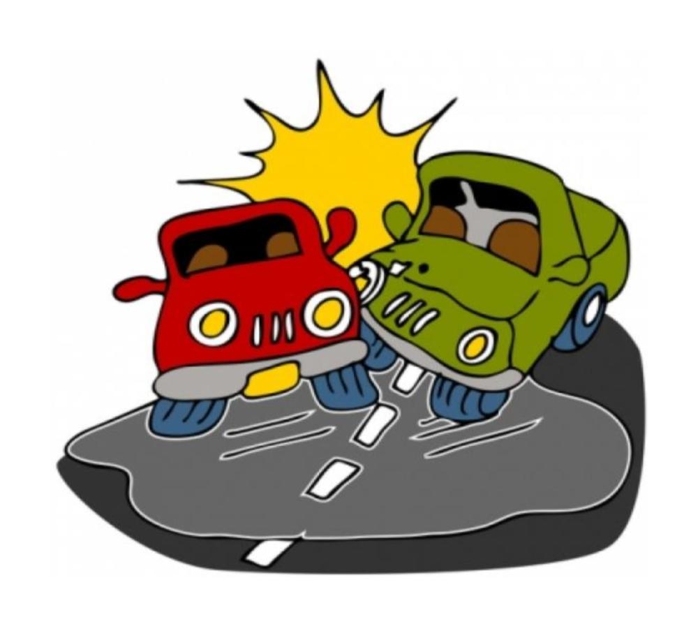 Crash clipart bus accident Clip Car Crash  Free