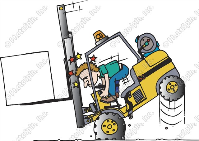 Crash clipart forklift By: forklift Bochnak Patrick Image#