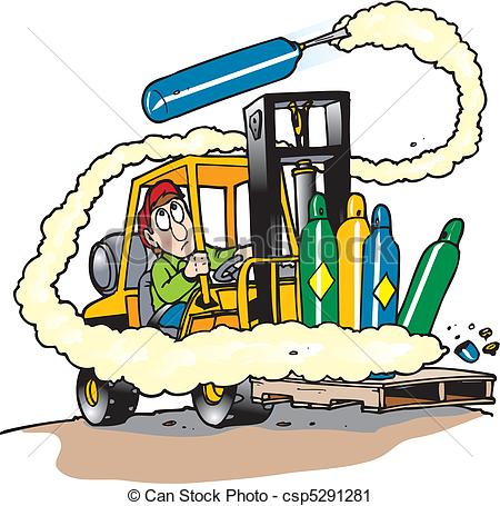 Crash clipart forklift Art illustrations royalty Lift com
