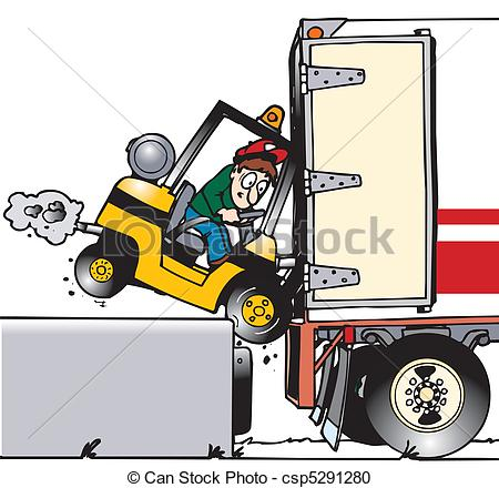 Crash clipart forklift Www to between Crash forgetting