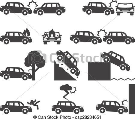 Crash clipart icon Icon and Clipart Cliff csp28234651