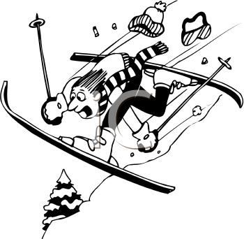 Crash clipart skier Tnb skier clipart Pivot Skiing