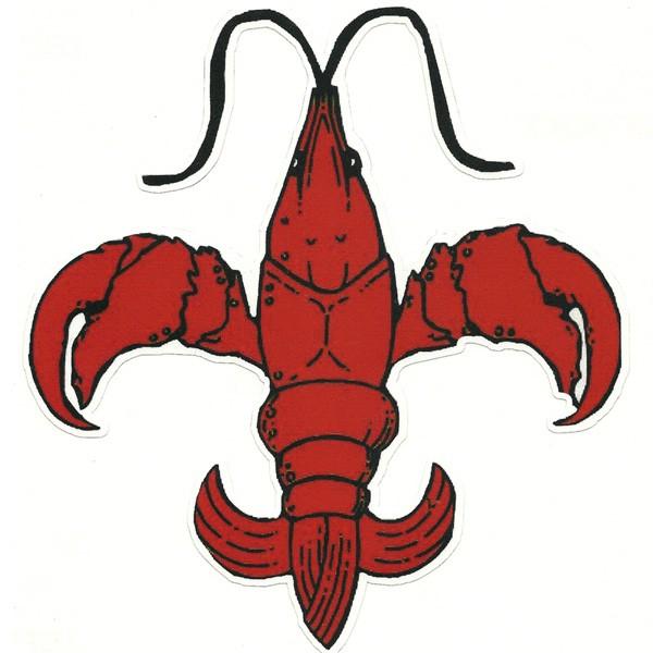 Crawfish clipart Clip Fleur Lis Crawfish De