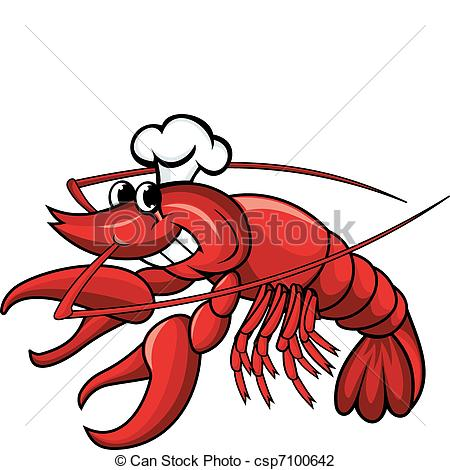 Crayfish clipart Of chef Smiling Smiling Smiling