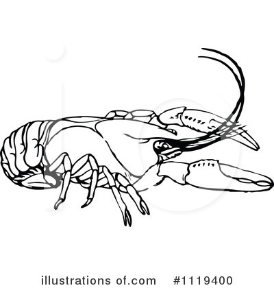 Crayfish clipart #1119400 Vintage Crayfish Royalty by