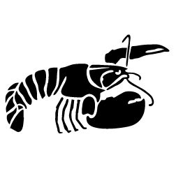 Crawfish clipart Clipart clipart and white black