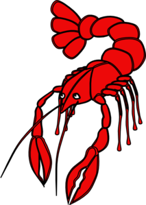 Pice clipart crawfish Art clip Art Crawfish Red