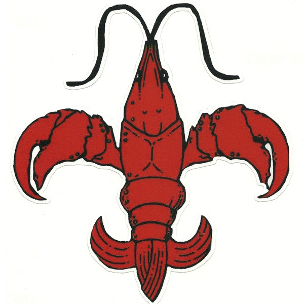 Pice clipart crawfish De Fleur Crawfish Pinterest clipart